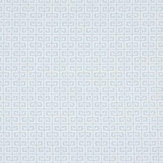 Cotton Meander 2 - Cotton - light blue