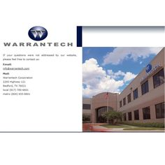Warrantech utilize e-mail, mail and outbound calls to reach targeted customers in the most effective medium to achieve success for their clients. With a strong presence of customer Service Representatives who have been professionally trained to deliver quality services to its clients Warrantech has undoubtly emerged as the market leader in Extended Service Warranty and many other niches. To get more information about Warrantech Corporation USA feel free to visit - http://www.wcpsonline.com/