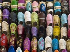 Moroccan slippers 'babouche'