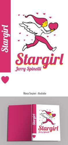 """""""stargirl"""" Jerry Spinelli Serpieri, Book Authors, Books, Book Covers, Illustration, Fictional Characters, Livros, Illustrations, Livres"""