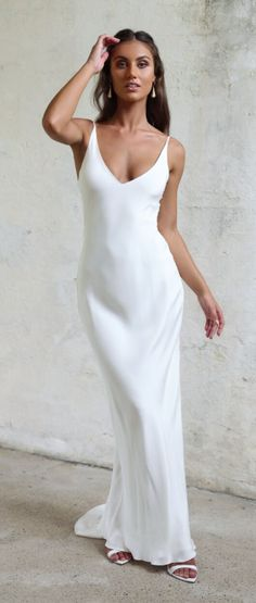 110 Best Silk Wedding Dresses images  53fca54de