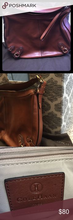 Cole Haan Purse Brown leather Cole Haan purse Cole Haan Bags Shoulder Bags