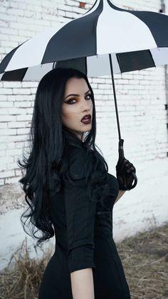Pastel Goth Fashion, Gothic Fashion, Fashion Beauty, Hot Goth Girls, Gothic Girls, Goth Beauty, Dark Beauty, Rockabilly, Goth Women