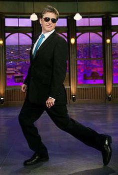 Craig Ferguson - this guy is a riot. His late night show is a bit... out there... but once you get into it, it's easy to get hooked. His standup is awesome though