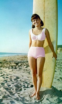 Happy Birthday, Bikini! In Honor of the Invention of the Two-Piece, Here Are the Most Iconic Bikinis in History: Could Sally Field's 1965 Gidget bikini be any more wholesome? No. It could not.