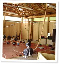 how to build a home crossfit gym