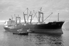 """LEERSUM  Eigenaar   N.V. Stoomvaart Maatschappij """"Oostzee"""", Amsterdam  Bouwwerf   Mitsui Shipbuilding & Engineering Co. Ltd., Tamano / 882  ..."""