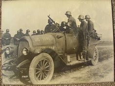 German Army car.WW1