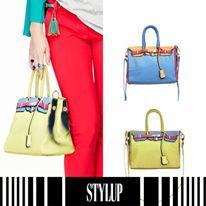 Şıklığınızı ayrıntılarla zenginleştirmek isterseniz Stylup tam size göre! 2 farklı renk seçeneği olan bu çantaları çok seveceksiniz. http://stylup.com/p/15066/puskullu-yesil-deri-kemer