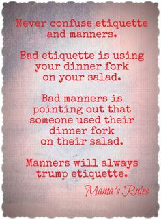 eleanor roosevelt quote about manners - Google Search