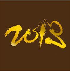 """Cartes de voeux - modèle """"Gold"""" 2013 (dorure à chaud sur papier coloré) © COPY-TOP"""