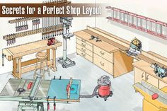 Secrets for a Perfect Shop Layout