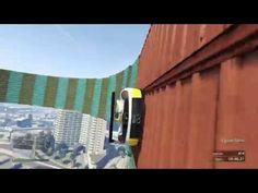 ESTA ACROBACIA ES DESQUICIANTE!!! - Gameplay GTA 5 Online Funny Moments (Carrera GTA V PS4) - YouTube