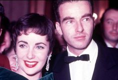 Liz Taylor and Montgomery Clift