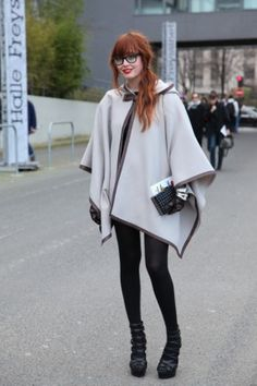 Paris Street Fashion Halle Freyssinet