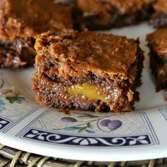 Recipe for Basement Brownies- aka Chocolate- Caramel Brownies...so good, you'll want to hide them in the basement so you can have them all to yourself!