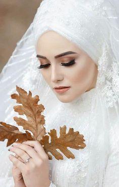 # Hijab Bridal hijab Hijab Evening Dress Models 2020 You can find different rumors about the history of … Hijabi Wedding, Muslim Wedding Dresses, Elegant Wedding Hair, Muslim Brides, Dream Wedding, Wedding Dreams, Bridal Hijab, Hijab Bride, Helly Hansen