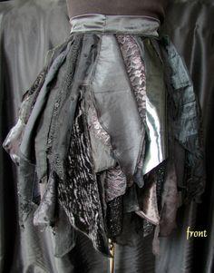 ragged skirt inspiration
