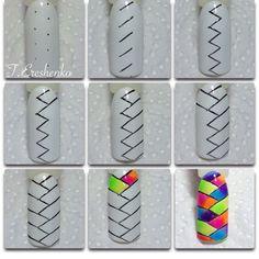 nail art braid