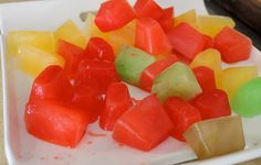 Kool-Aid Ice Cubes put into Sprite...fun drink for kids!