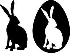 Da Ostern wieder vor der Tür steht gibt es von mir heute eine Anleitung für diese kleine Osterbox in die genau eins dieser berühmten, bei Jung und Alt so beliebten, Schokoladeneier passt. Außerdem gibt es für euch am Ende dieses Beitrags auch wieder ein paar kostenlose Vorlagen zum Ausdrucken und Ausschneiden (auch für Schneideplotter). Ostern_Hase_Kontur_Easter_Bunny_Hare_Silhouette