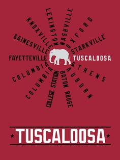SEC college towns (Tuscaloosa!!)