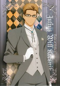 Tales of Xillia 2 Poster - Photo Collection Album Tales of Series Dress Up Collection Bromide: Julius Will Kresnik (Julius)