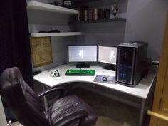 #battlestations #xbox #mancave #computers #pc #game #gaming