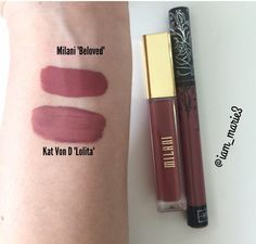 Milani Beloved & Kat Von D Lolita