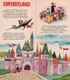 Several Disneyland/TWA brochures were available in the early years, but this one is (as far as I know) the most elaborate, with 16 pages! Disney Dream, Disney Love, Disney Theme, Disney Stuff, Disney Parks, Walt Disney, Friendship Stories, Flying Elephant, Disney Rooms