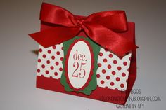 Stuck on Stampin': 12 days of Christmas {projects} - day 11