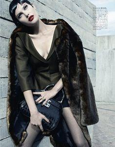 #CatherineMcNeil by #EmmaSummerton for #VogueJapan September 2013