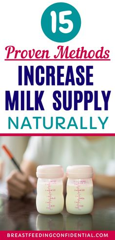These are proven methods that breastfeeding moms can increase their milk supply naturally. Tried, tested and trusted. Make more breastmilk fast. Low Milk Supply, Breastfeeding Problems, Breastfeeding Support, How To Increase Breastmilk, Lactation Recipes, Lactation Cookies, Lactation Consultant, Homemade Baby Foods