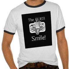 the Alien Smile & Black & White Style 3   http://www.zazzle.com/teeshirtsplenty?rf=238806092629186307