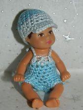 Roupa De Roupas De Crochê Para Krissy Bonecas Barbie                                                                                                                                                      Mais