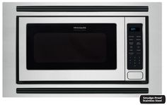 """FPMO209RF Frigidaire 24"""" Frigidaire Professional 2.0 Cu. Ft. Built-In Microwave - Stainless Steel"""