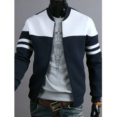 Fashionable Style Shirt Collar PU Leather Splicing Long Sleeves ...