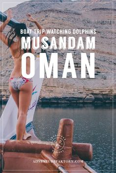 Trip to Musandam Oman - Boat trip to watch the dolphins!