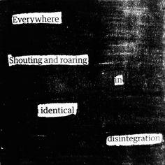 Collapse  #newspaperpoetry #newspaperpoem #blackoutpoetry #erasurepoetry #blackoutpoem #willtrytodoacheerfuloneatsomepoint #makeblackoutpoetry #writersofig #poetry #poem #poetryisntdead #sharpieart #blackoutcommunity