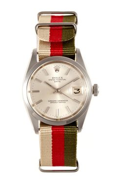 Rolex Watches Collection For Women : Shop 1963 Rolex Stainless Steel Oyster Perpetual Date by CMT Fine Watch and Jewelry Advisors - Moda Operandi - Watches Topia - Watches: Best Lists, Trends & the Latest Styles Rolex Watches For Men, Fine Watches, Patek Philippe, Versace, Rolex Women, Nato Strap, Michael Kors, Stylish Watches, Vintage Rolex