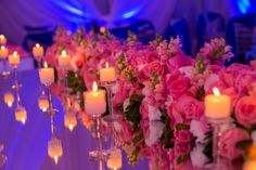 Ballroom reception? candles are a must!!!