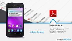 Visualiza tus documentos PDF con Adobe  Reader, una excelente App de trabajo.