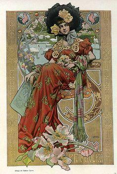 Gaspar Camps i Junyent (Spanish, painter, illustrator and poster artist of the Art Nouveau and Art Deco. Mucha Art Nouveau, Azulejos Art Nouveau, Alphonse Mucha Art, Art Nouveau Poster, Bijoux Art Nouveau, Design Art Nouveau, Illustration Art Nouveau, Jugendstil Design, Kunst Poster