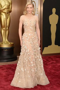 Cate Blanchett / Armani Prive / 2014 Academy Awards <3
