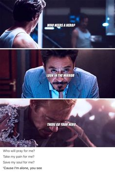 Strange saved you, you're not alone so go kick Thanos ass and bring all of our disappeared babies back! We love you Tony Marvel 3, Marvel Heroes, Marvel Movies, Funny Marvel Memes, Funny Memes, Avengers Quotes, Marvel Quotes, Best Avenger, Iron Man Tony Stark