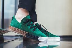 "Alexander Wang x adidas AW Skate ""Green"" UK SIZE 4.5   #adidasalexanderwang #skate"