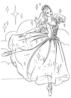 Princesses Coloring Pages 55