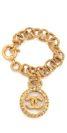 WGACA Vintage Vintage Chanel CC in Glass Bracelet | SHOPBOP