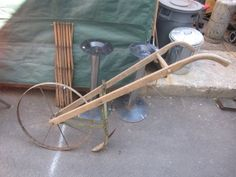 old hand plow picture | Antique Hand Plow