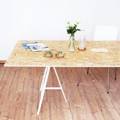 jenny mustard minimalist home decor diy table